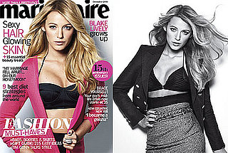 Photos of Blake Lively in Marie Claire Magazine