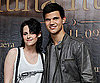 Slide Photo of Kristen Stewart and Taylor Lautner in Mexico City
