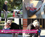 Photos of Gwen Stefani at a LA Park With Sons Zuma and Kingston