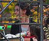 Slide Photo of Suri Cruise and Katie Holmes on the Set of The Romantics in Long Island