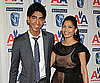 Slide Photo of Dev Patel and Freida Pinto at BAFTA Awards