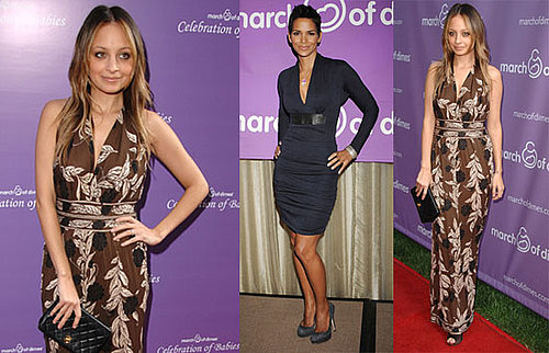 Photos of Nicole Richie and Halle Berry at a March of Dimes Event in LA