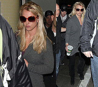 Photos of Britney Spears at LAX on Her Way to Australia