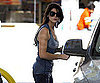 Slide Photo of Ashley Greene Pumping Gas in LA