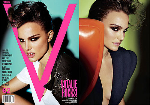 Photos and Quotes of Natalie Portman in V Magazine