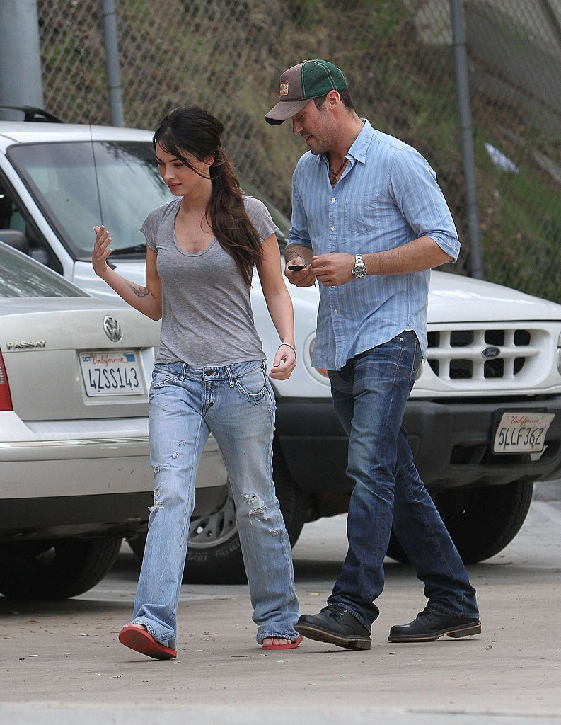 Photos of Megan Fox and Brian Austin Greene in LA