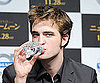 Slide Photo of Robert Pattinson Promoting New Moon in Tokyo
