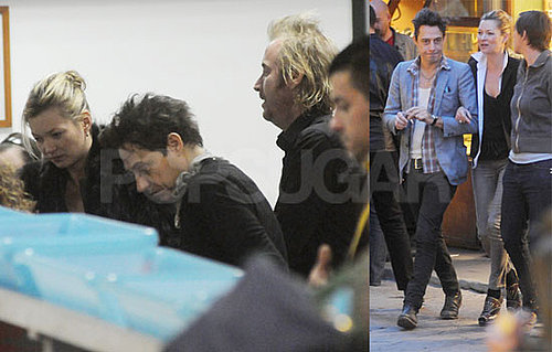Photos of Kate Moss And Jamie Hince Together on Vacation in Milan