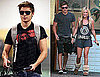 Photos of Zac Efron Leaving Vancouver and Flying into LAX, Out With Ashley Tisdale