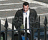 Slide Photo of Ben Affleck Working in Boston on The Town
