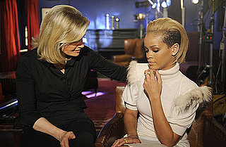 Photo of Rihanna With Diane Sawyer For Good Morning America Interview