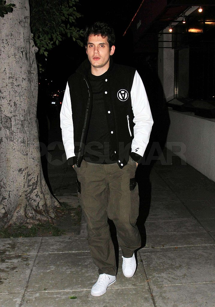 Photos of John Mayer in LA