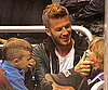 Slide Photo of David Beckham and Romeo