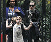 Slide Photo of Kate Winslet and Mia and Joe Leaving School in NYC