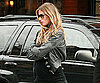 Slide Photo of Gisele Bundchen Showing Off Baby Bump in NYC