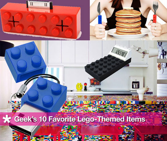 GeekSugar's 10 Favorite Lego-Themed Items