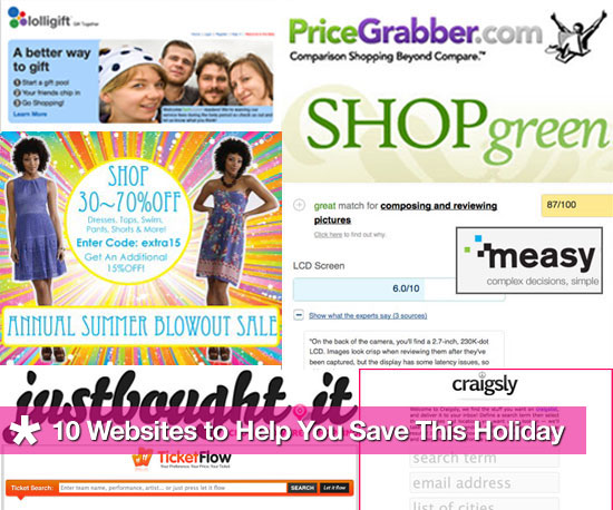 10 Websites to Help You Save Money This Holiday Shopping Season
