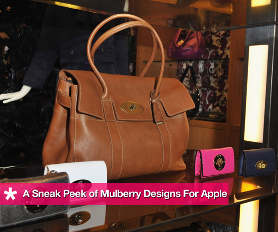 Mulberry's New Lineup of Accessories For Apple Products