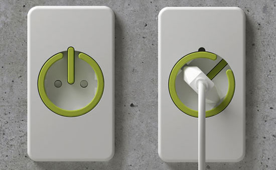 Eco Friendly Electrical Outlet Prevents Wasting Money on Vampire Power