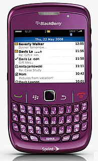 Sprint Announces the New BlackBerry Curve 8530