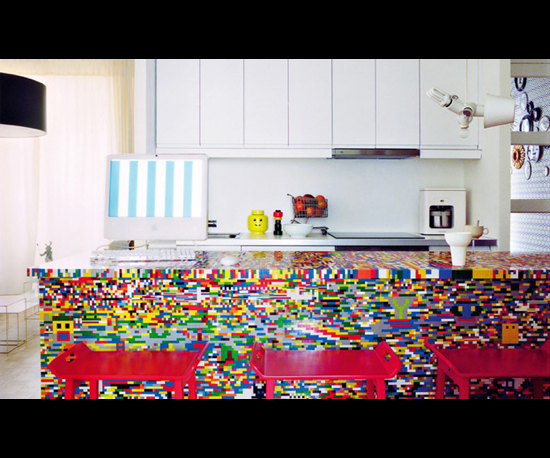 Awesome Lego Kitchen