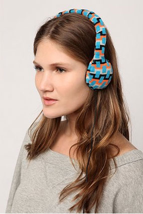 Knit Headphones Photos