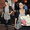 Rachel Bilson Attends Lucky Magazine's Fall Denim Tour Event in Polka Dot Tank and Myne Skirt