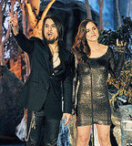 Dave Navarro and Eliza Dushku