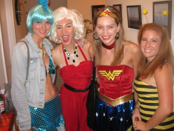 Odessa 2020 (Mermaid), Marilyn Monroe, Wonder Woman, Bodacious Bee