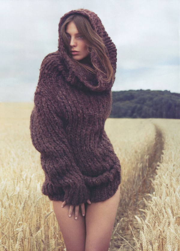Girls on Film: Daria Werbowy, Vogue Nippon, Nov. '09