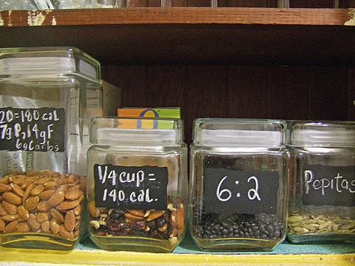 Use Chalkboard Labels on Jars