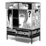 Add a very bold piece to your home with the Crepax Kadhorna Cabinet ($7,500) from designer Giuseppe Canevese.