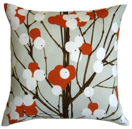 The Marimekko Lumimarja Pillow Cover ($27.95) has Finnish flair.