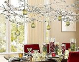 Learn how to make this silver branch chandelier here.