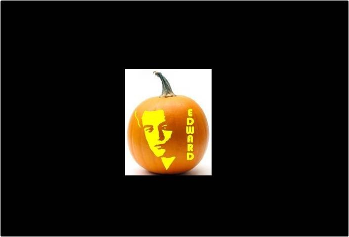 Carve an Edward pumpkin with this stencil ($5.20).