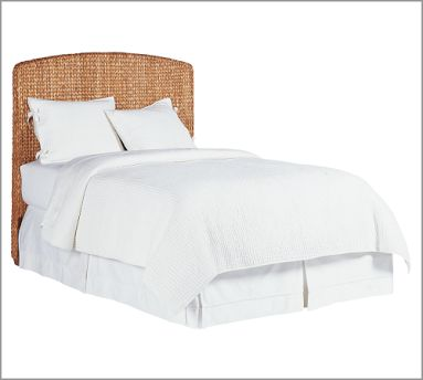 The Pottery Barn Seagrass Headboard ($399 and up) will let you show your organic side as well.