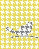 I'm a major fan of houndstooth, so I think this Hooray For Houndstooth Print ($14) is pretty fun — even though bird motifs might be a little overdone.