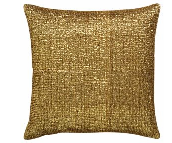 Glam it up with these gold Texoro Pillows ($39.95).