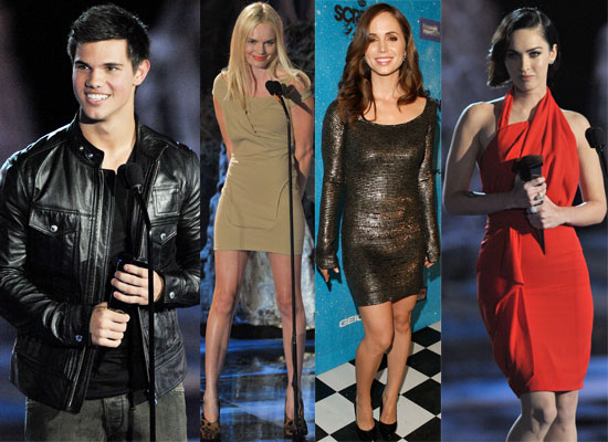 Gallery of Photos from Scream Awards 2009, Including Taylor Lautner, Eliza Dushku, Megan Fox. Twilight Wins At Scream Awards