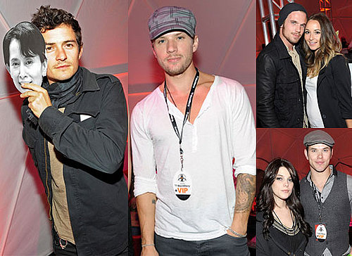 Photos of Twilight's Ashley Greene, Kellan Lutz, Cam Gigandet Plus Orlando Bloom, Ryan Phillippe at U2 360 Concert