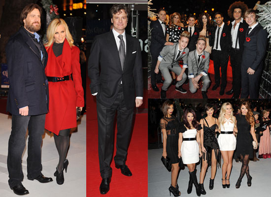 Photos of Jim Carrey, Colin Firth and X Factor Contestants at Christmas Carol Premiere, Plus London Christmas Lights Switch On