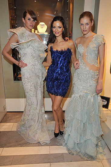 Photos of Georgina Chapman for Garrard Launch in London with Princess Beatrice, James Brown, Jo Wood