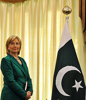 Front Page: Blast Hits Pakistan as Hillary Clinton Arrives