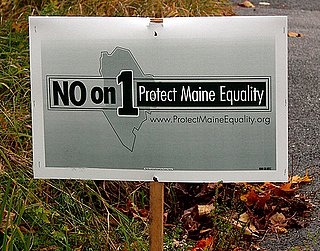 Front Page: Maine Voters Reject Gay Marriage