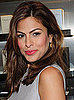 Picture of Eva Mendes's Hot Pink Lipstick