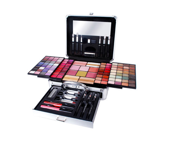 Markwins Hybrid Colors Compact Traincase Gift Set