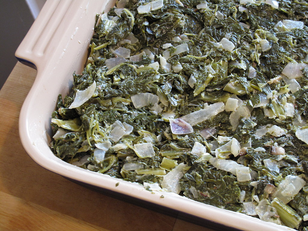 Photo Gallery: Creamed Collard Greens With Parmesan Bread Crumbs