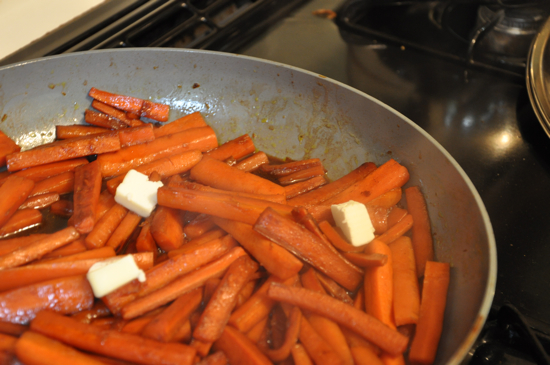 Pomegranate-balsamic Glazed Carrots