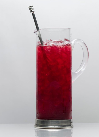 Holiday Rum Pomegranate Punch Recipe