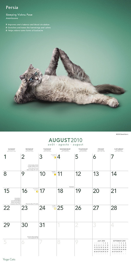 August — Sleeping Vishnu Pose